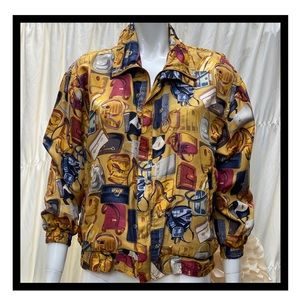 Fuda international Silk jacket